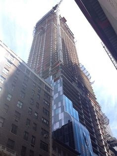 One57 Gets Glassy: Photos Of Midtown's Newest Supertall Skyscraper