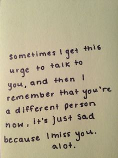 I get this. & a sadder thing, still, is even after everything you did, you're still the one i feel bad for.