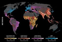 The World of 7 Billion: Where & How We Live. High income is considered above $12,000 - crazy!!