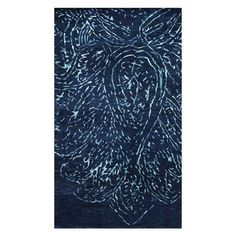 Hand-knotted New Zealand wool rug.  Product: RugConstruction Material: 100% New Zealand woolColor: Na...$756 5' x 8'