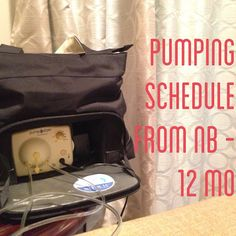 Here is a detailed schedule for nursing OR exclusively pumping Mommas that will take you to your baby's 1st birthday.