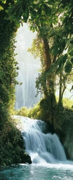 Zaragoza Falls in the Pyrenees of Spain