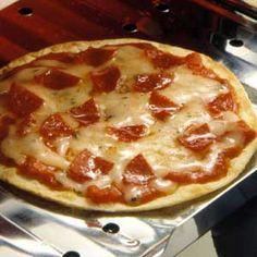 quick pizza tostada