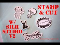 Stamp and Cut with Silhouette Studio