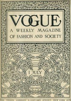 July VOGUE 1909