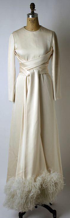 Valentino evening dress, late 1960s
