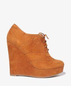 fashion, wedg 2980, heart wedg, cloth, beig wedg, brogu wedg, wedges, forever21, shoe