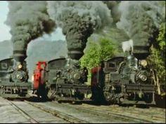 train race, three train