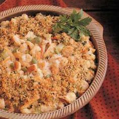 Country seafood casserole