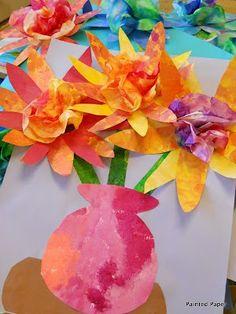 Painted Paper Bouquets | BGVJ