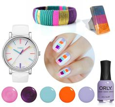 Nailed It! 11 DIY Manicures + Matching Wrist Candy