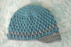 Alli Crafts: Free Pattern: Deeply Textured Hat - Toddler