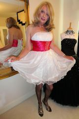 Transvestites love prom dresses from the collection at http://www.dress-me-up.co.uk sexyandyouknowit, white prom dresses, dressings, crosses, transvestit, cross dress, crossdress