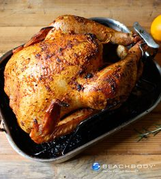This roast turkey is