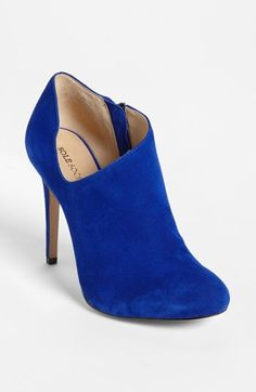 Electric Blue Booties