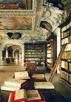 Classic books. my dream space!