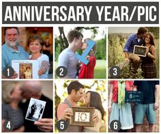 101 Tips and Ideas for Couples Photography- love these anniversary pics! What a fun tradition. I want to do this with my hubby! :)
