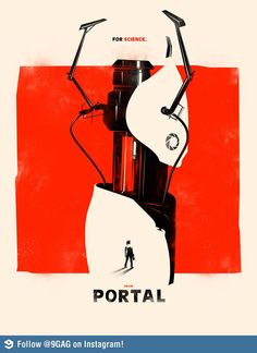 If Portal becomes a movie, this should be the poster.