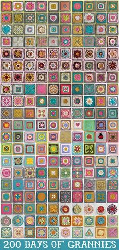 WOW , Great Pictures .. A granny a day project yarn-love-community-pinboard