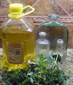 Second Chance to Dream: Make Your Own Herb-Infused Olive Oil