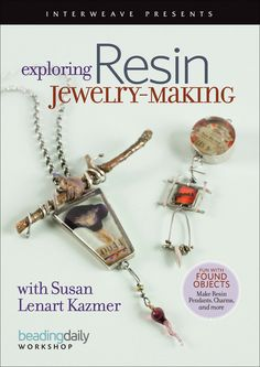 Auctionopia: Book -Exploring Resin Jewelry-Making DVD