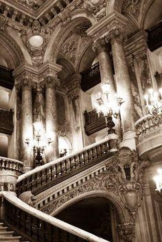 Paris Opera House - Paris, France 8x10 Fine Art Photograph