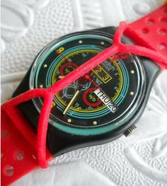 You had to have a 'Swatch Guard' for your Swatch Watch!