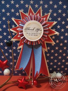 Memorial Day / Veterans Day Thank You Ribbon :)