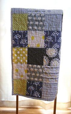 craft, elephant baby quilt, color schemes, babi averi, colors, elephant patchwork, cribs, dots, babi emm