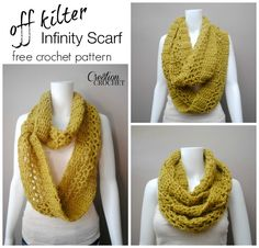Check out this infinity scarf Cre8tion Crochet made with our Jiffy yarn. She even shows you several styling options once you're finished.