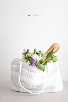 DIY: rope bag