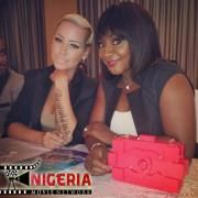 Nollywood star actress, Ini Edo, spotted with American model, Amber Rose in Lagos at the 2013 Miss Earth Beauty Pageant.   Read more: http://www.nigeriamovienetwork.com/articles/read-nollywood-actress-ini-edo-meets-american-model-amber-rose-photo_697.html