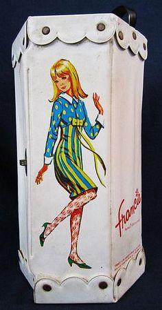 1965 Francie Doll Case