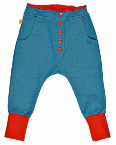 Albababy bukser chiko button, button pant