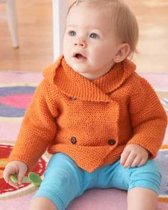 Knitting patterns ~ Baby hoodies on Pinterest Hoodie, Free Knitting and Hoo...