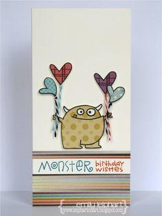 Monster Birthday Wishes