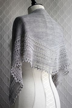 Henslowe Shawl. So beautiful, so wearable, so classic..