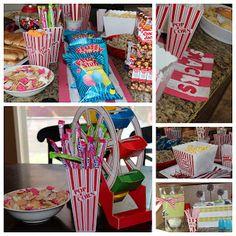 melissa project, birthday parties, birthdays, carniv birthday, birthday idea, carnival birthday party ideas, parti idea, bday parti, carniv theme