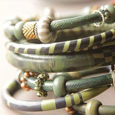 polym bangl, polym bracelet