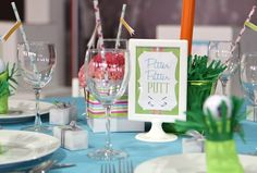 Preppy Golf Themed Baby Shower – Operation Shower — Celebrations at Home