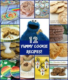 12 yummy cookie recipes!