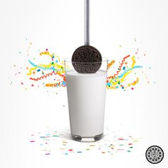 oreo new years dunk #marketing #ad