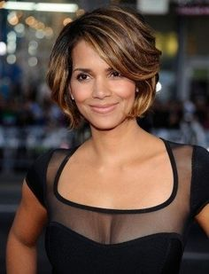 celebrity hairstyles, hall berri, color, beauty, halle berry
