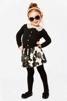 Black and White by Milly Mini's Kids Clothing.  Fabulous!