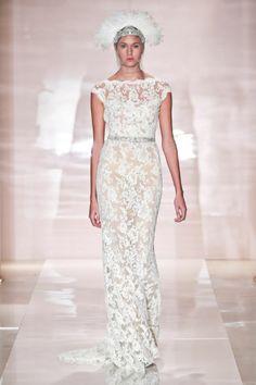Erica wedding dress by Reem Acra Fall 2014 Bridal
