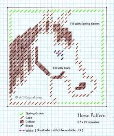 craft, canva pattern, plastic canvas horse, plasticcanva, plastic canvas patterns