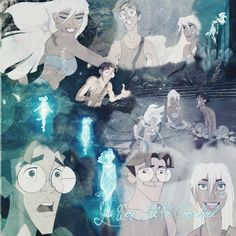 A very under appreciated Disney movie in my opinion.  Atlantis is one of my favorites!  Love Kida!  Best princess too!