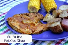 Mommy's Kitchen - Old Fashioned & Southern Style Cooking: All - In One Pork Chop Dinner {Cooked in the Crock Pot}