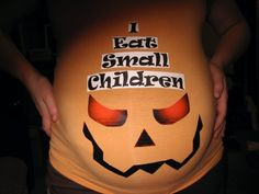 A Bit Backward . . .: A class of their own: Halloween Costumes for Pregnant Women