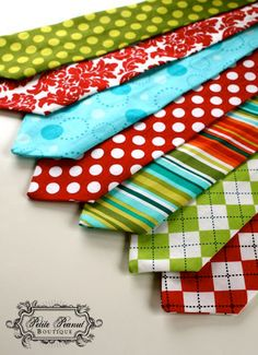 """Cool"" Christmas ties for little boys"
